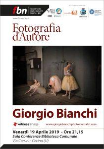 GIORGIO BIANCHI - mostra fotografica @ SAla Conferenze Biblioteca Comunale di Cecina