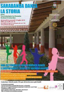 Sarabanda danza la storia @ Parco Archeologico di San Vincenzino