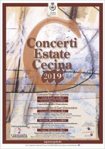 Concerti Estate Cecina 2019 - Scuola di Musica Sarabanda @ Parco Archeologico di San Vincenzino